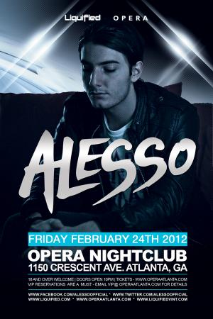 Alesso | Friday Feb 24 2012-EVO