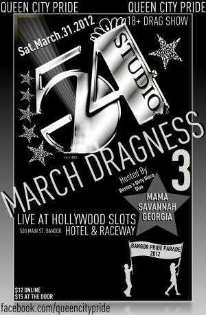 March Dragness 3 - Pride Fundraiser