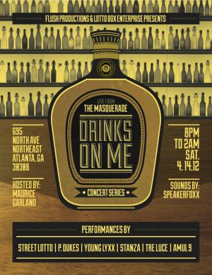 Drinks On Me - Concert Series
