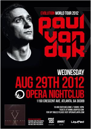 Paul Van Dyk | Wed Aug 29 2012