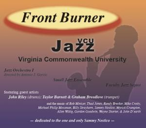 VCU Jazz Front Burner CD