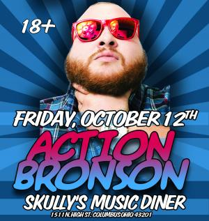 Action Bronson LIVE at Skully's