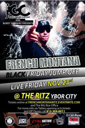 French Montana Live @ The Ritz Ybor