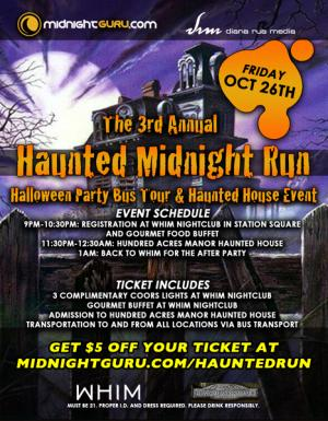 The 3rd Annual Haunted Midnight Run