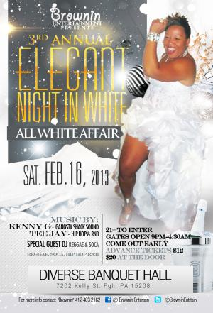 3rd Annual Elegant Night in White
