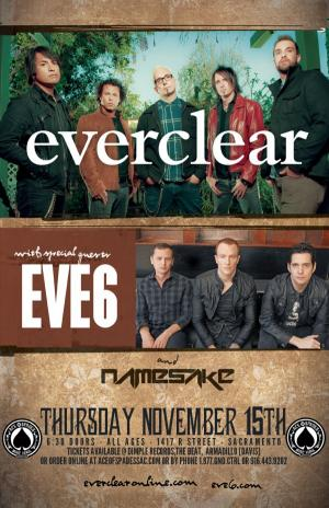EVERCLEAR W/TRAGIC CULTURE