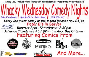 Whacky Wednesday Comedy Night
