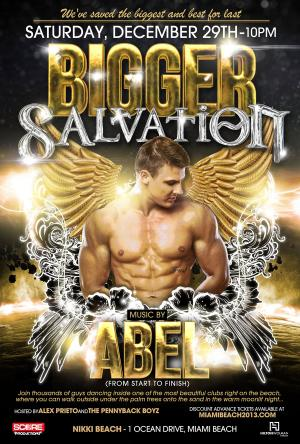 Bigger SALVATION with DJ Abel