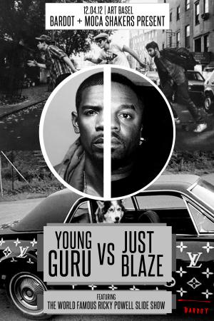 Young Guru vs Just Blaze | 12.4