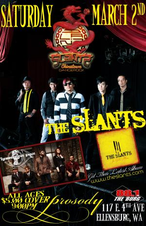 The Slants w/ Tyrannosaurus Grace