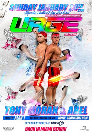URGE with Abel and Tony Moran