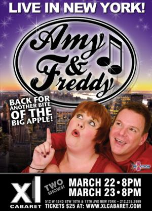 Amy & Freddy - Live in NYC!