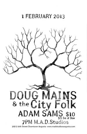Doug Mains & City Folk w/Adam Sams