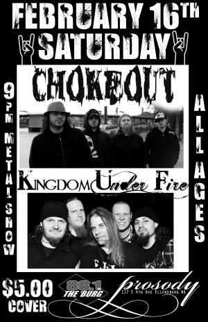 Chokeout / Kingdom Under Fire