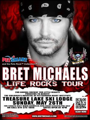 Bret Michaels Presented by Domtar & Walmart