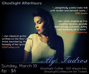 Aly Tadros at Ghostlight Coffee