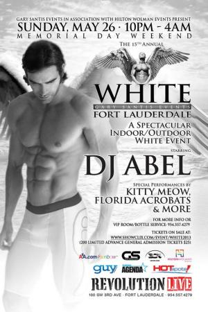White Fort Lauderdale with DJ Abel