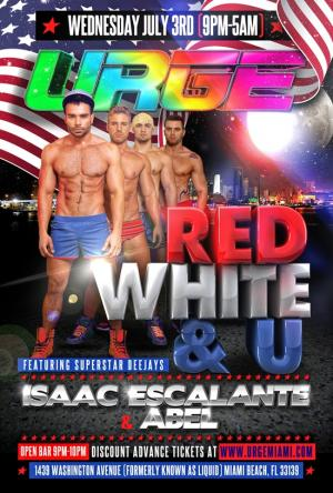 URGE: Red White and U