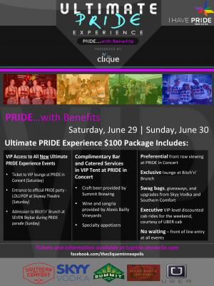 Twin Cities PRIDE --- Ultimate PRIDE Experience