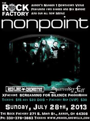 NONPOINT w Red Line Chemistry, Surrender the Fall