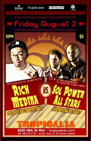 Rich Medina vs Sol Power All-Stars