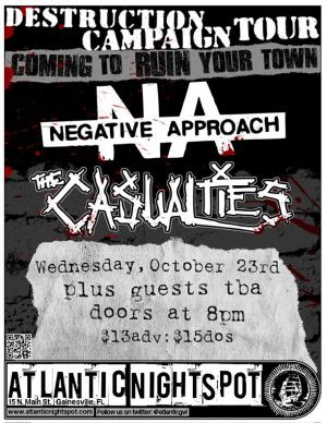 The Casualties, Negative Approach