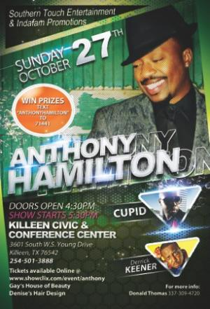 "Anthony Hamilton ""Live in Concert"""