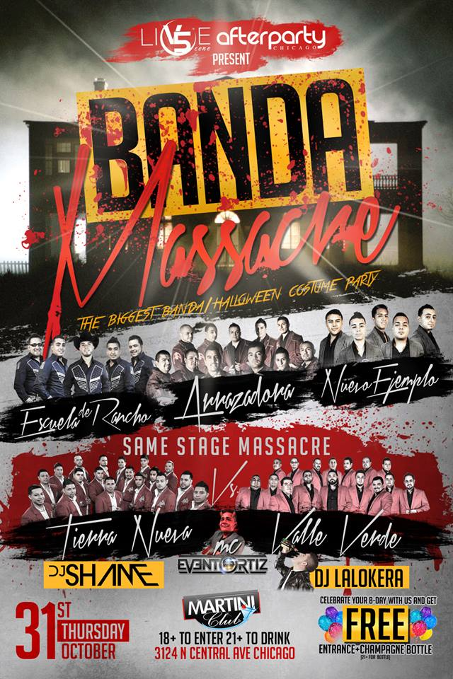 Halloween Events In Chicago: Banda Massacre