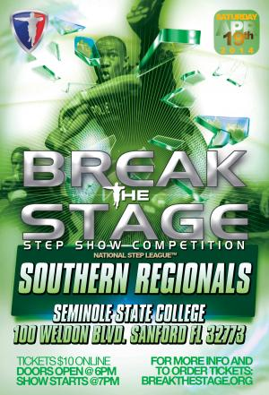 Break the Stage Southern Region Championship