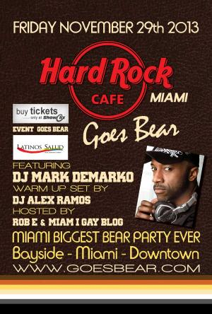 Hard Rock Cafe Goes Bear