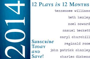 2014 12-Play Staged Reading Subscription Package