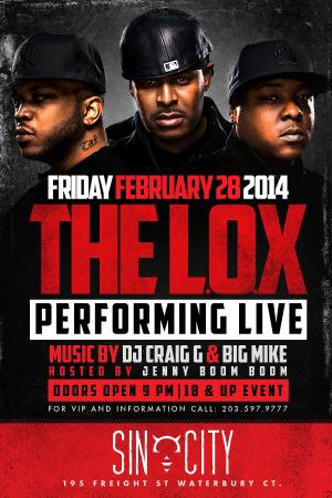 LOX LIVE IN CONCERT