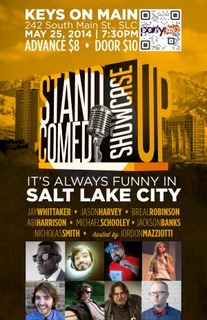 It's Always Funny in SLC Comedy Showcase