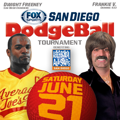 San Diego Chargers Channel: Tickets For FOX Sports San Diego Dodgeball In San Diego