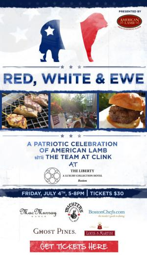 Red, White & Ewe Cookout