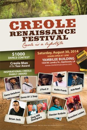 3rd Annual Creole Renaissance Festival