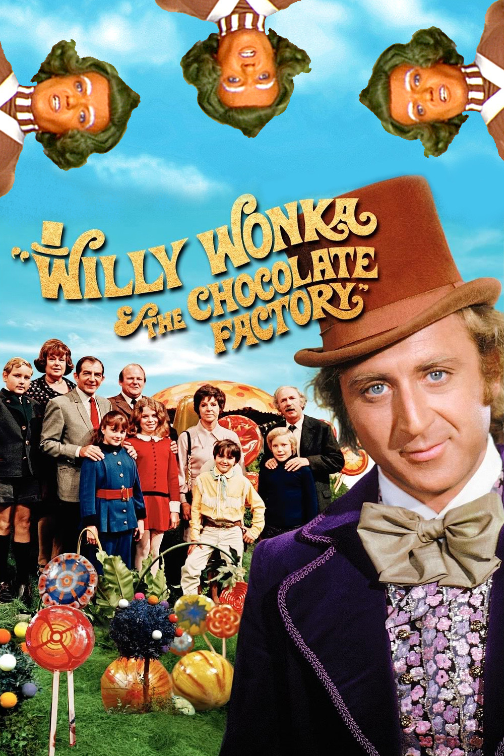 Amazoncom charlie and the chocolate factory movie poster