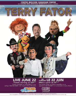 SOLD OUT - Terry Fator Live!