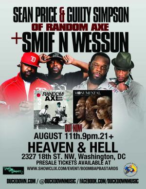 Smif N Wessun and Random Axe