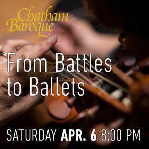 CB - From Battles to Ballets @ Synod Hall