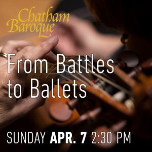 CB - From Battles to Ballets @ Chatham University