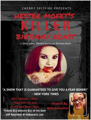 Hester Mofet's Killer birthday Roast