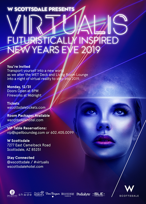 Tickets For Virtualis New Year S Eve 2019 In Scottsdale From Sle Tix