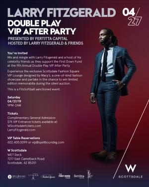 Larry Fitzgerald's Double Play VIP After Party