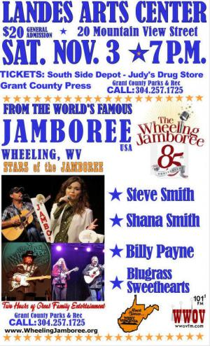Jamboree 85th Anniversary Roadshow Petersburg WV