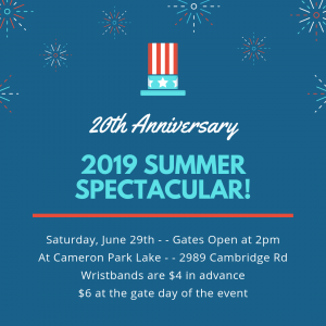20th Anniversary Summer Spectacular