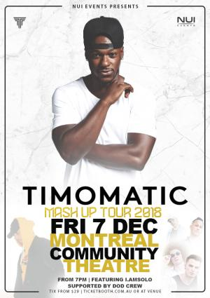 TIMOMATIC TUMUT Concert  - MASH UP TOUR
