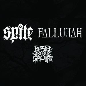 Spite + Fallujah w/ Buried Above Ground, Disillusion Effect