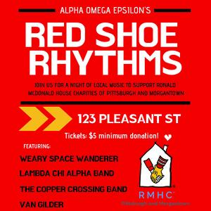 Red Shoe Rhythms - Weary Space Wanderer, Lambda Chi Alpha Band, and  The Copper Crossing Band   Van Gilder