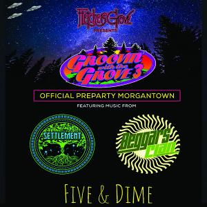 Groovin with the Grove 3 PreParty feat The Settlement, Beggars Clan, The Five & Dime